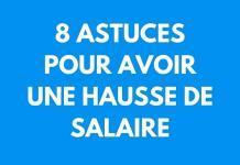 8 astuces pour obtenir une hausse de salaire