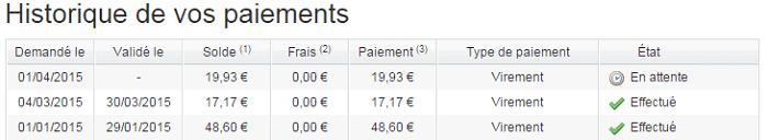 paiements poulpeo